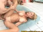 Big Tit slut gets nailed