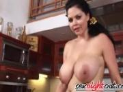 Massive Boobs Shione Cooper Masturbates
