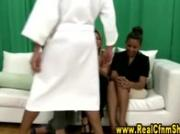 Cfnm amateur femdom humiliation girls