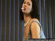 Milf smoking seduction