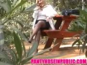Candid Voyeur Video Of Public Outdoor