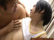 Hot Japanese girls in sporty sex action 2 by JapanMatures