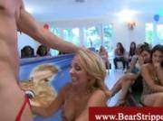 Cfnm horny bachelorette dick sucking party