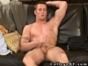 Muscled rc wanking his firm cock 2 by CollegeBF