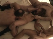Slutwife fucked by 9 guys in the motel