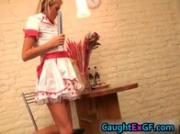 Cuty maid serving pussy exgf video 6 by CaughtExGF