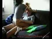 Follando en el sofa/fucking on the sofa more vids in www.chi