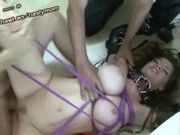 Mature mom tied up fun