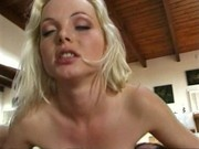 Silvia Saint in a very rare scene DP