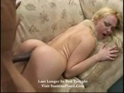 Annette Schwarz Blonde Slut Interracial