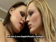 Bianka and Jo, lesbian babes licking pussies