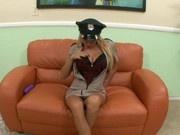 Sexy Cop Aletta Blue