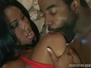Candice Von really knows how to suck and fuck - Real Ebony Amateur
