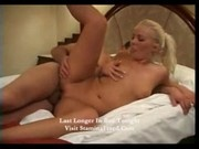 Melisa Blonde beauty has two holes and wants them both filled part2