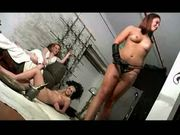 Hard ballbusting kicks from hell