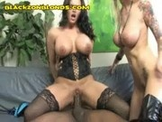 Threesome with a Black Dick