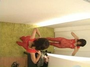 Voyeurcam - Model lesbian seduction Part 2