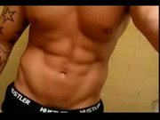 Hot muscle abs