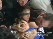 Sarah Young Blindfolded