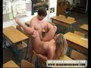 Horny Classroom Fuck