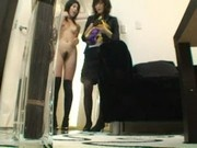 Voyeurcam - Model lesbian seduction Part 1