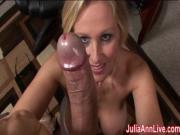 Milf Julia Ann Dreams About Sucking Cock