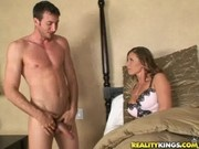 Devon Lee gets her sweet peice of pussy pummeled by her son's friend