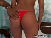 Brazilian buina and ariel share a big black cock - brazil ba