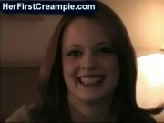 Redhead gets an accidental creampie