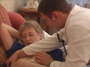 Young Doctor Fucking a Mature Lady Patient