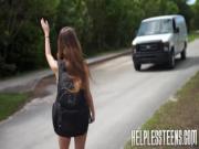 Morrita encontrada en la carretera es follada