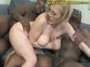 Blonde Gets Black In Both Ends