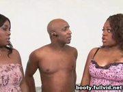 Black blowjob threesome