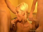 Christine Alexis - Nasty Pornstar In Threesome Action