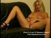 Marsha Busty slut lolling on couch