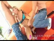 aubrey creampie and gangbang 0