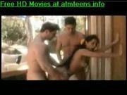 Hot latina babe double penetrated