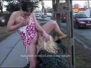 Drink my piss in public