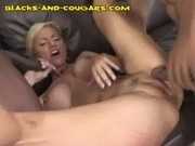 MILF Takes Two Blacks