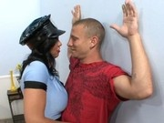 Busty Cop Isis Love
