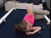 Aurora snow fucked hard on the pool table