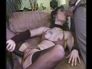 Pussy Pump -burnette in leopard print