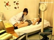 Schoolgirl In Uniform Getting Her Nipples Licked Pussy Fingered Stimulated By The Schooldoctor At Th