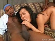 This Asian slut likes big black Cocks - First Black Cock