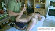 Sexy sophia lomeli fucked on massage table
