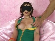 Asian Blindfold Tease