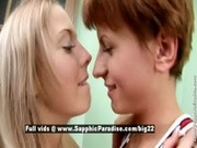 Remi and Mandi from sapphic erotica, lesbian babes teasing