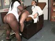 Chocolate nurse gets oral