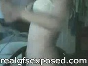 Asian chick sexy dancing