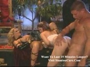 Sheena - Nice vaginal threesome in the land of evil